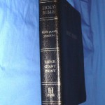 1 Volume, 18 Point Print Bible