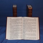 3 volume 24 point print Bible
