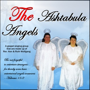 The Ashtabula Angels Clearly Spoken Album Cover