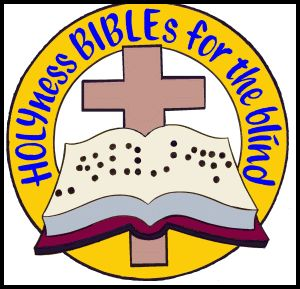 HOLYness BIBLEs for the blind Logo