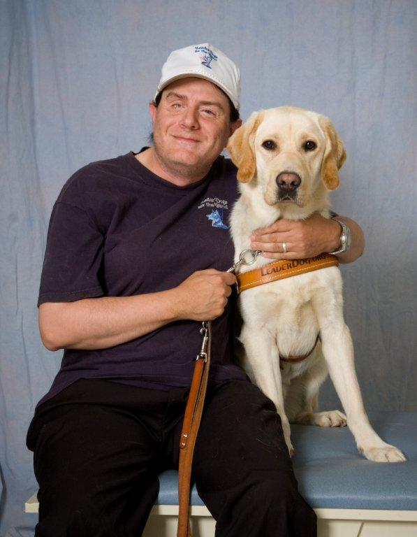 Missionary ken and leader dog truman