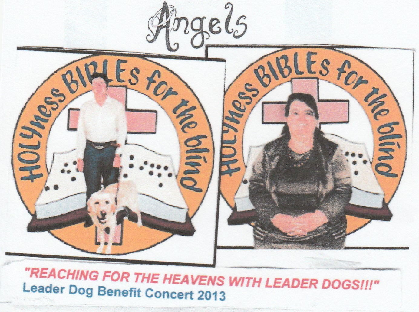 REACHING FOR THE HEAVENS WITH LEADER DOGS!!!, Album Cover